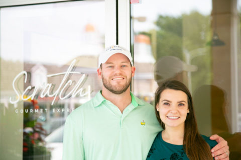 Scratch Gourmet Express and Catering owners Tyler and Monica Morrison
