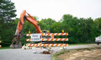 John Barkley Drive closure