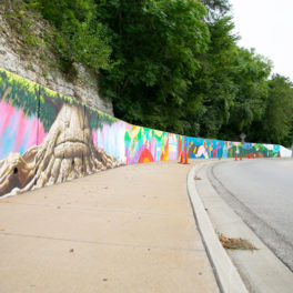 47th Street mural Roeland park