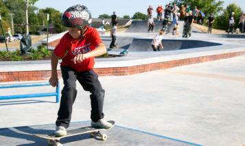 Harmon Park skate park
