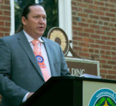 Shawnee Tribe Chief Ben Barnes