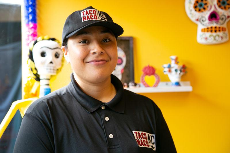 Taco Naco KC Owner Fernanda Reyes Gonzalez