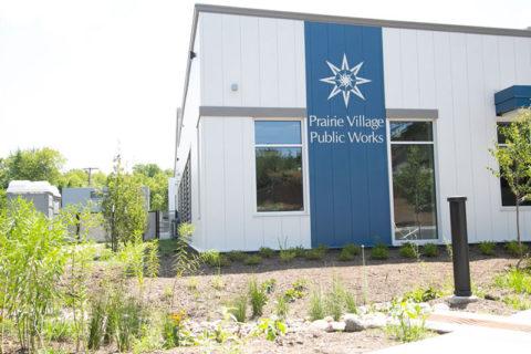 Prairie Village Public Works building