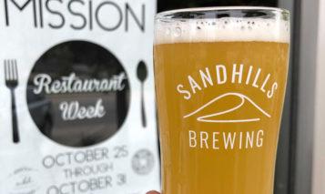 Sandhills Brewing Mission restaurant week